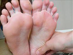 Hot 18yo french teen feet soles size 39