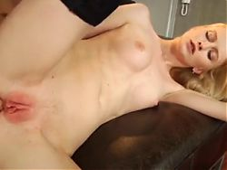 Slim Blond perfect tits